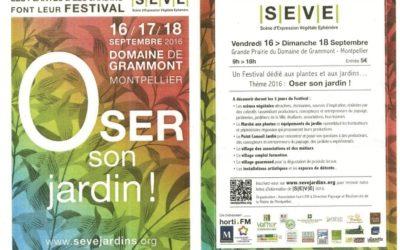 Salon S.E.V.E Montpellier 16 au 18 septembre 2016